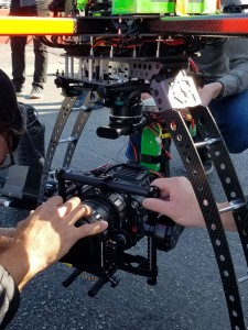 Panavision anamorphic glass on Red Dragon